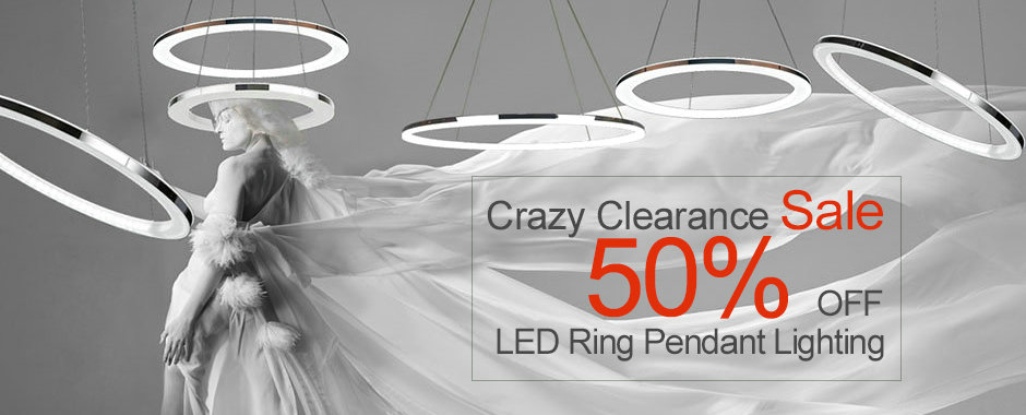 LED Pendant Light Clearance